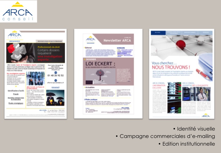 Arca-Campagne Commerciale