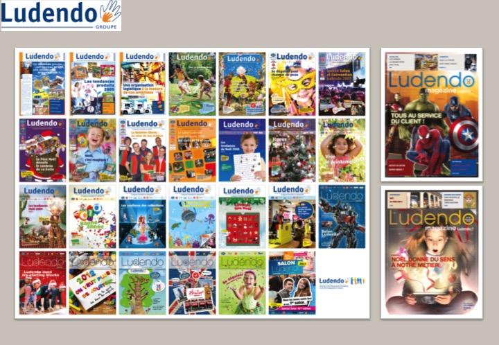 Ludendo-Magazines internes