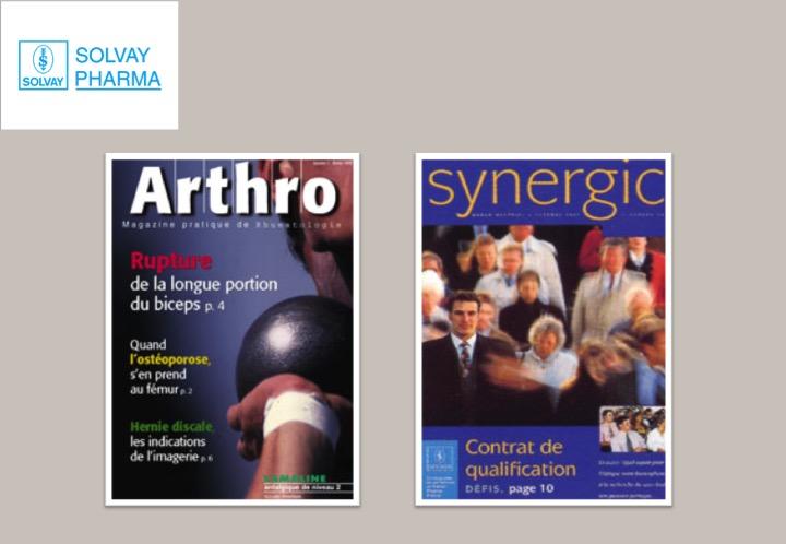 Solvay Pharma-magazines