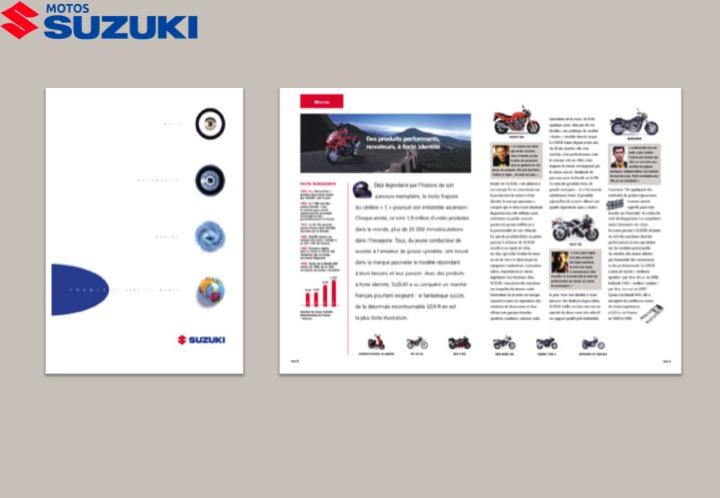 Suzuki moto-Brochure institutionnelle
